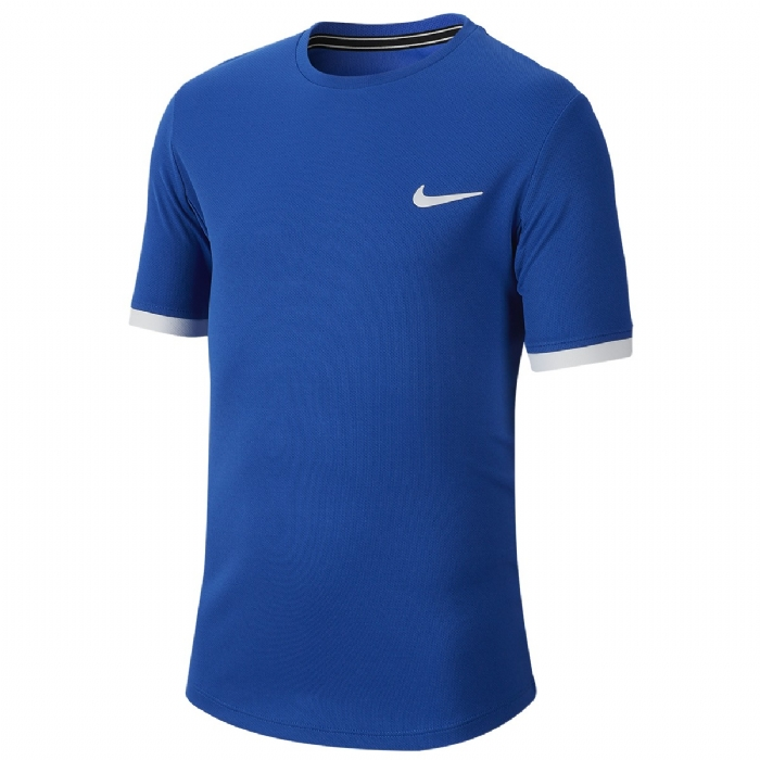 Tee shirt garçon Court bleu roi