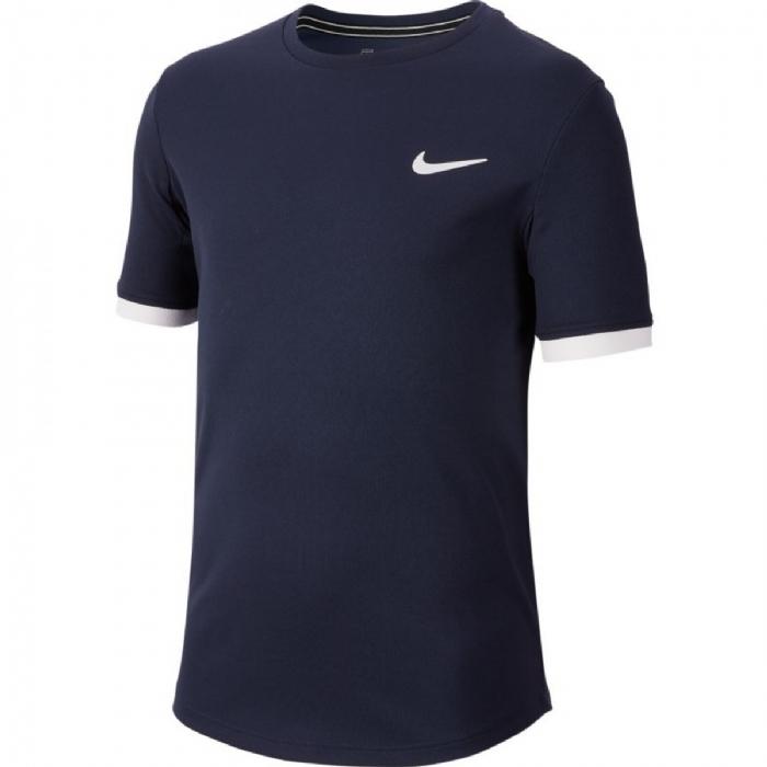 Tee shirt garçon Court bleu marine