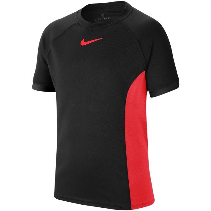 Tee shirt Garçon AusOpen noir rouge