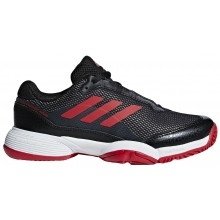 Chaussures Garçon solecourt noire et rouge