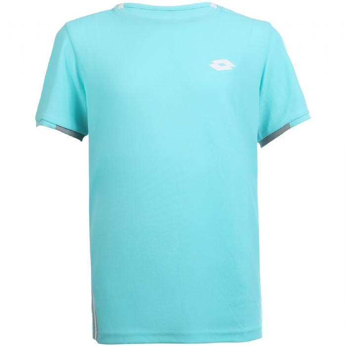 Tee shirt Garçon turquoise Squadra